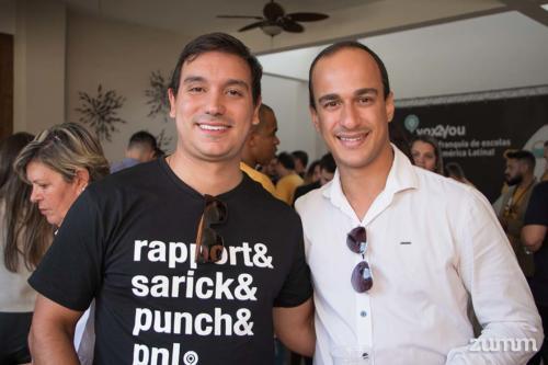 Junior Barroso e Gabriel Fortunato