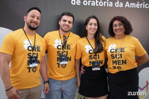 Leandro Ferrari, Rafael Frascari, Marcela Torricillas e Regina Paes