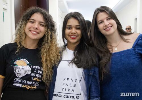 Rauane Carla, Camila Pereira e Eliza Garavazo