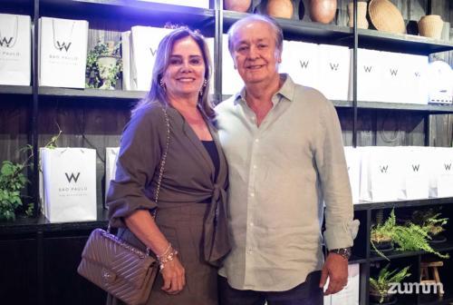 Ana Márcia e Bene Silveira
