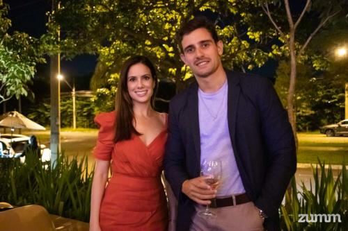 Ethiene Pires Pereira e Rodrigo Festuccia