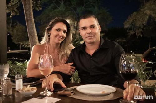 Hugo e Tatiana Dias