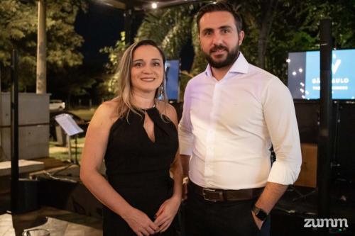 Luciana Barros e Thiago Escobar