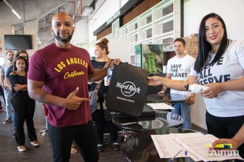 Treinamento no Hard Rock Cafe Ribeirão Preto