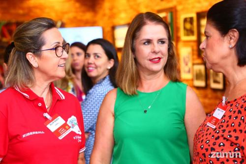 Silvia Balbino, Maria Luiza Klockner e Sandra Picinato