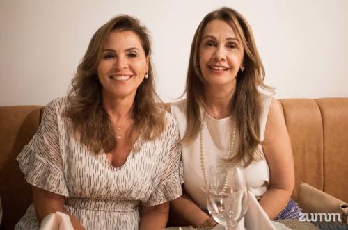 Maria Inês Junqueira e Jorgete Serafim