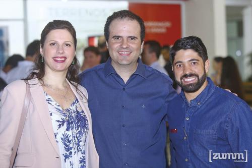 Débora De Bortoli, André Lopes e Gustavo Pereira