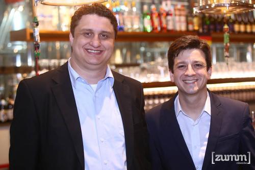 André Alonso e Felipe Azevedo