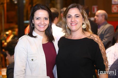 Andrea Gil e Camila Thomaz