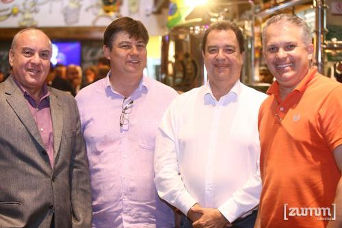 Carlos Pinho, Paulo Laimgruber, Paulo César Garcia Lopes e André Rezende