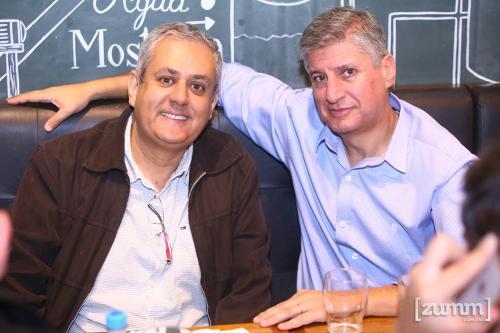 Evaldo Gomes e Nelson Trezza