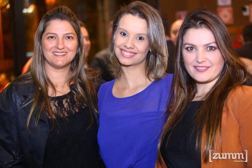 Julia Silva, Gabriela Dutra e Gislaine Bonfim