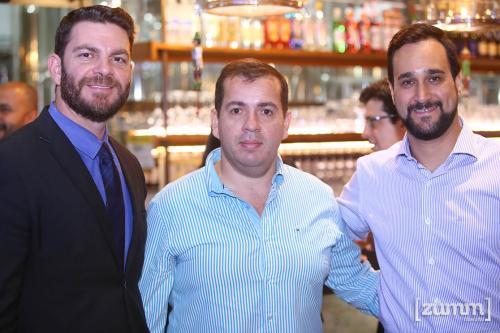 Ronaldo Mazzoni, César Henrique Sousa e Samir Calixto