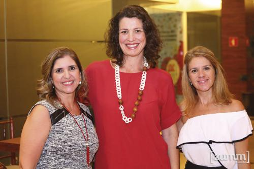 Gisele Ferrão, Vânia Schutzer e Dani Aguiar