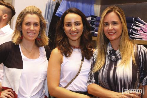 Marcela Costa, Grazi Baggio e Vanessa Armênio
