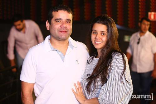 Edson Ferreira e Priscila de Souza