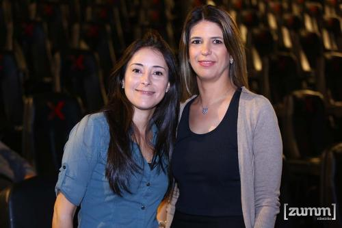 Elida Reinaldo e Julianna Mattos