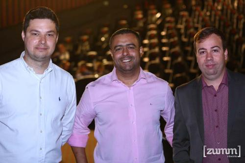 Fernando de Freitas, Cleber Galdino e Thiago Nobile