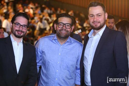 Rafael Batista, Lelis caldeira e Rodrigo Camargo