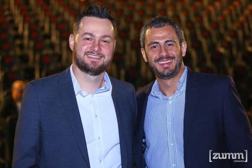Rodrigo Camargo e Leonel Mafud