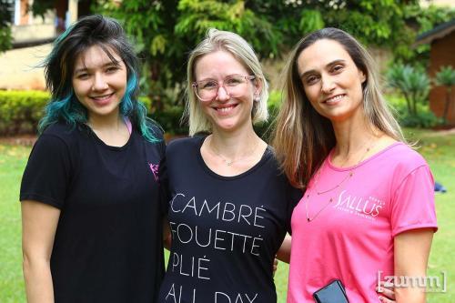 Ana Luiza, Vanessa Tremeschin e Tati thomaz