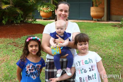 Catarina, Alice, Telma e Cecília Vanzela