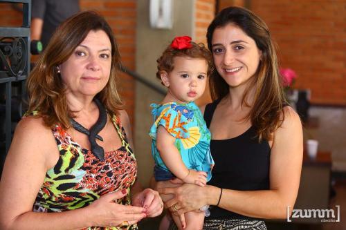 Leila, Helena e Marcela Roveri