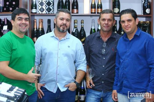 Felipe Duarte, Júlio Reis, Edilberto Marchi e Cristiano Cardoso