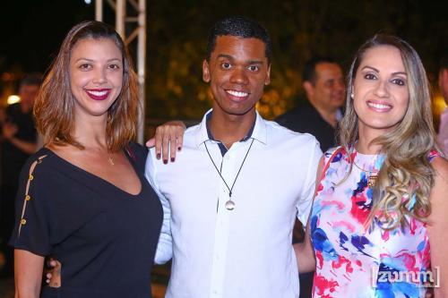 Ingrid Azenha, Júlio Barbosa e Silvia Medeiros