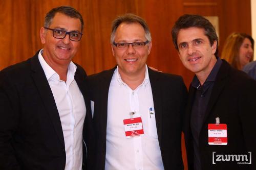 Adilson Haddad, Marcos Rogerio e Marcelo Bazzali