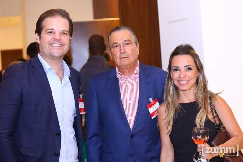 Fabio Fernandes, Maurilio Biagi e Evelyn Lima