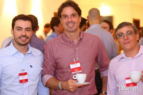 Luis Nacarato, Rogerio Dib e Andre
