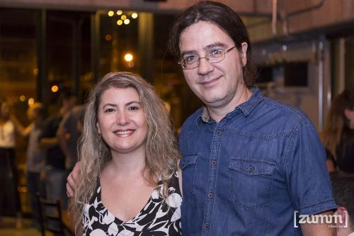 Gisele Zordão e Regis Martins
