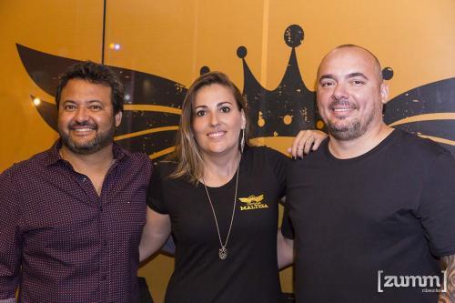 Luiz Bernardes, Joice Buzatto e Fabio Tomazeli