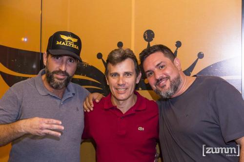 Rodrigo Queiroz, Antonio Perez e Marcelo Oliveira