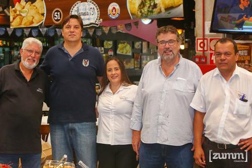 José Garcia, Luis Junior, Vivian Nassaro, Wagner Martins e Marcos Manzini
