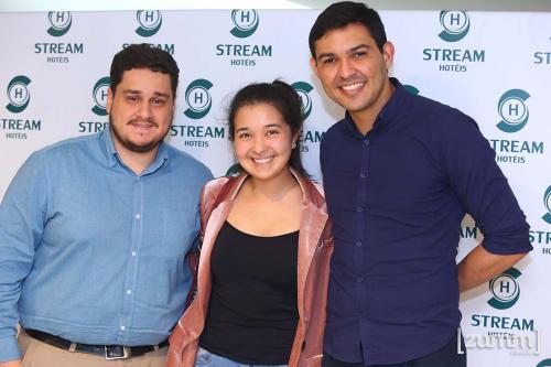 Lucas Ament, Bárbara Sun e Willamy Gomes