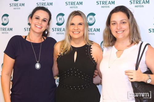 Roberta Castilho, Daiane Matos e Glaucia Bruschini