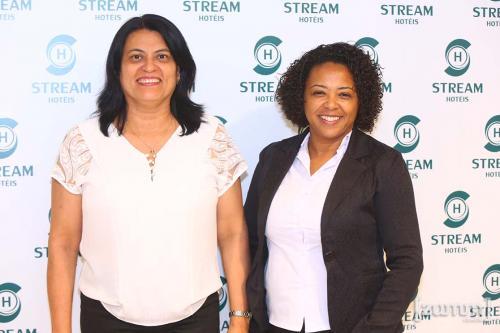 Vera Velasquez e Ediana Silva