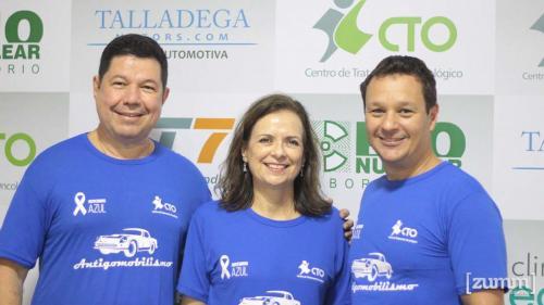 Dr. Fernando Marin Torres, Susana de Freitas Tavares e Dr. Fábio Eduardo Zola