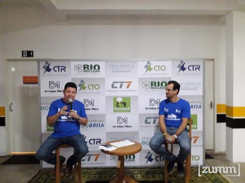 Dr. Fernando Marin Torres e Dr. Harley Francisco de Oliveira