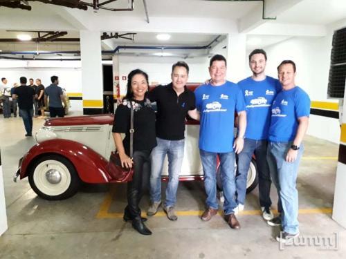 Dra. Thais Carvalho, Sergio Fujioka, Dr. Fernando Marin Torres, Dr. Erick Franz Rauber e Dr. Fábio Eduardo Zola