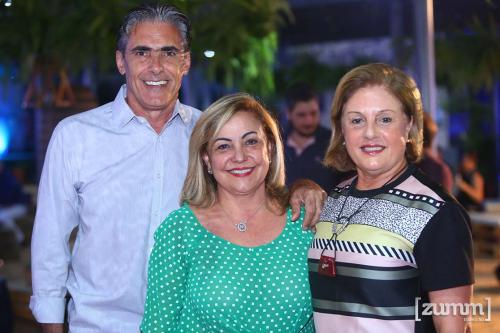 Jose Roberto , Mara Pereira Alvim e Heliana Palocci
