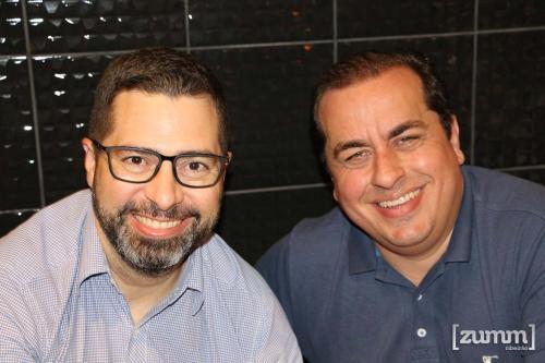 André Marcolino e Matheus Falleiros