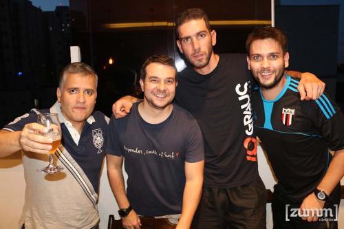 Cristiano Feldman, Gustavo Marchesi, Mateus Eik e Samuel Paião