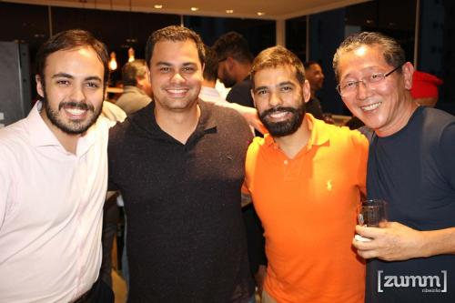 Daltom Freitas Neto, Vinicius Jacomini, Eduardo Ribeiro e Seizo Suzuki