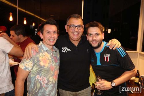 Tom Osório, Adilson Haddad e Samuel Paião