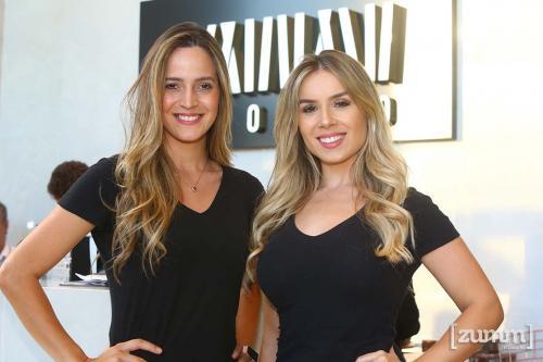 Lidiane Oliveira e Amanda Ávila