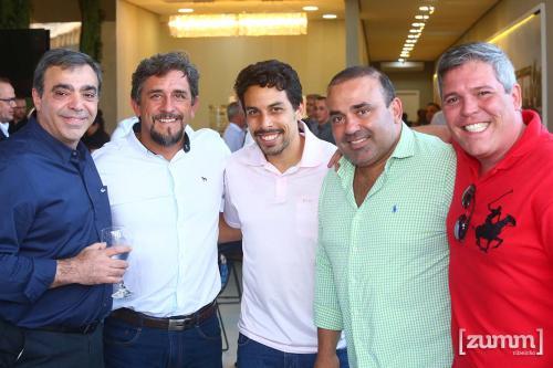 Nabil Zoghbi, Julio Augusto, Leo Pernambuco, Tulio Pagano e Gustavo Guarujá