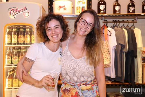 Bia Amorim e Francine Micheli